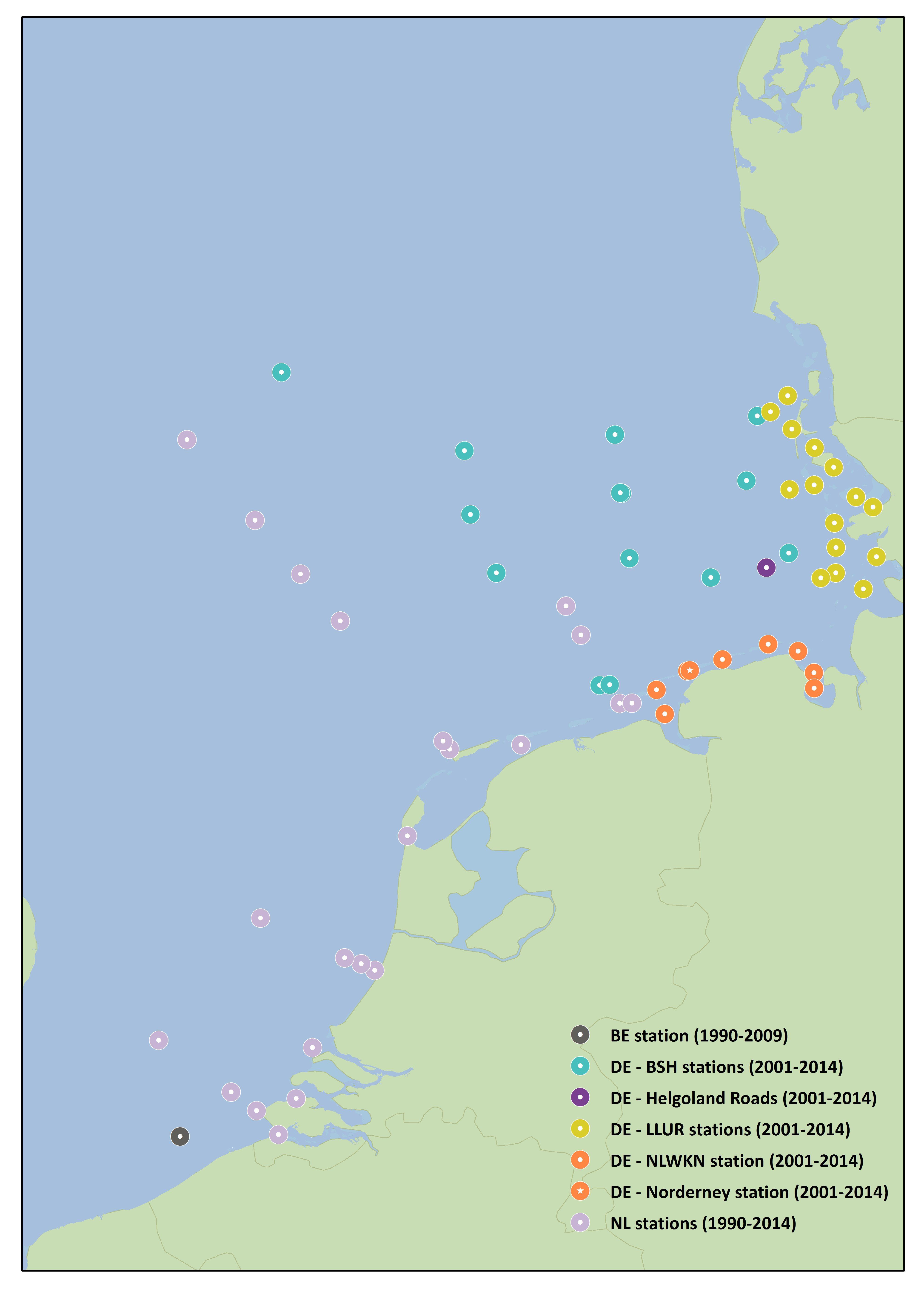 Trends In Blooms Of Nuisance Phytoplankton Species Phaeocystis In - Belgium political map 2001