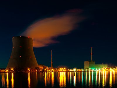 Radioactive discharges from the nuclear sector have decreased
